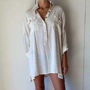 Faithful The Brand Baia Shirt Dress
